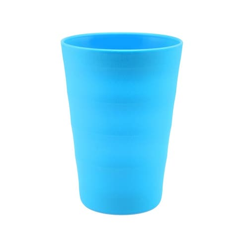 Break-Resistant Plastic Cups 12oz, Reusable Design