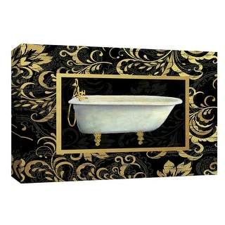 "PTM Images 9-148303  PTM Canvas Collection 8"" x 10"" - ""Royal Bath I"" Giclee Bed and Bath Art Print on Canvas"