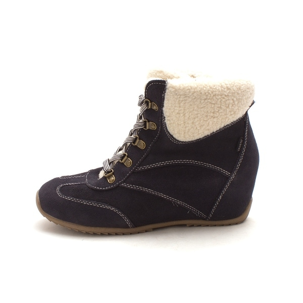 Sporto Womens SUE Leather Closed Toe Ankle Cold Weather Boots - 9.5