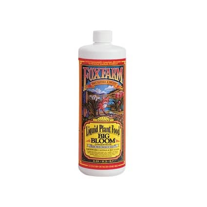 Hydrofarm FX14002 Foxfarm Big Bloom Liquid Plant Food - 1 Quart