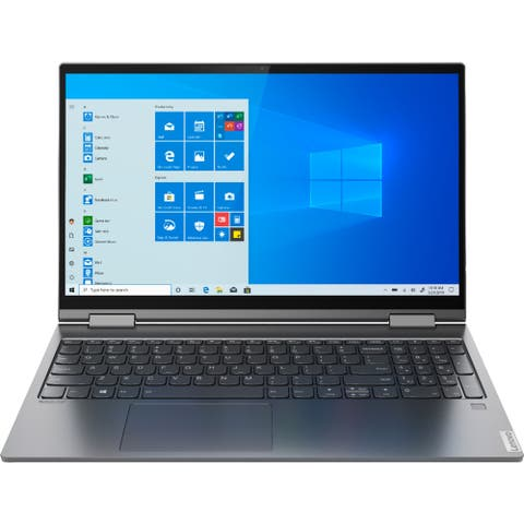 "Lenovo Yoga C740-15IML 15.6"" Touch 8GB 512GB Intel Core i7-10510U,Iron Gray(Certified Refurbished)"