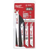 Milwaukee 8Pc Sawzall Blade Set