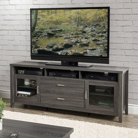 """CorLiving Hollywood TV Cabinet with Drawers, for TVs up to 85"""""""