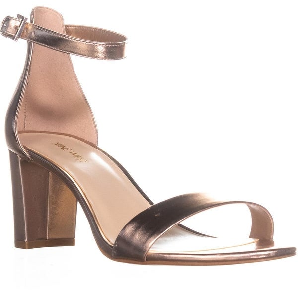Nine West Pruce Ankle Strap Sandals, Pink