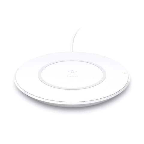 Belkin Boost Up 7.5W Charging Pad,Qi-Certified for iPhone X, 8, & 8 Plus (White) - White