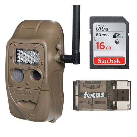 Cuddeback CuddeLink J Series Long Range Trail Camera with 16GB Card and Reader