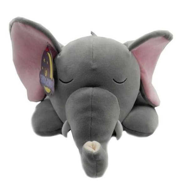 Shop Snoozimals 20in Elephant Plush Stuffed Animals By Go Games