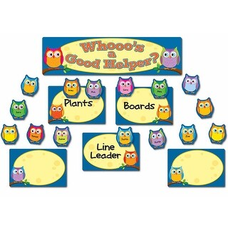 Colorful Owls Job Assignment