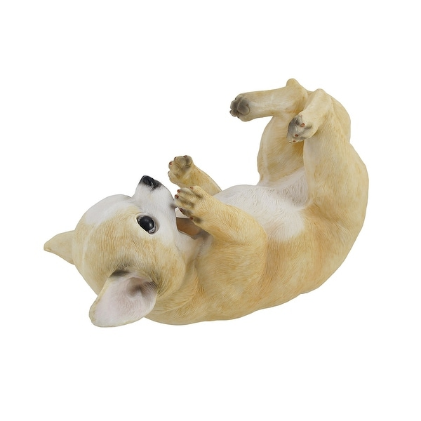Chihuahua Dog Tabletop Single Wine Bottle Holder Display - 6.25 X 9.5 X 4.5 inches
