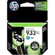 HP 933XL High Yield Cyan Original Ink Cartridge (CN054AN)(Single Pack)