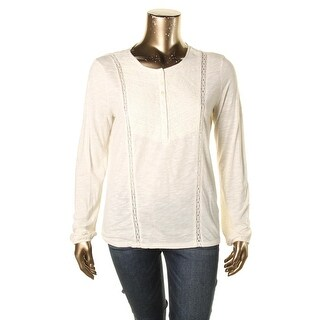 LRL Lauren Jeans Co. Womens Pullover Top Knit Long Sleeves - xL