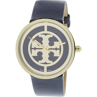 Tory Burch Women's Reva TB4021 Gold Leather Quartz Fashion Watch