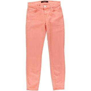 J Brand Womens Photo Ready Denim Cropped Colored Skinny Jeans