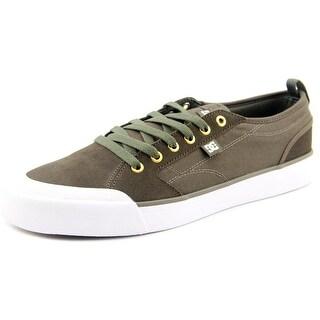 DC Shoes Evan Smith S Men Round Toe Leather Gray Skate Shoe