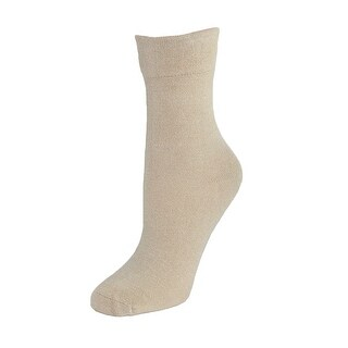 Windsor Collection Women's Bamboo Wide Trouser Slack Sock - One Size