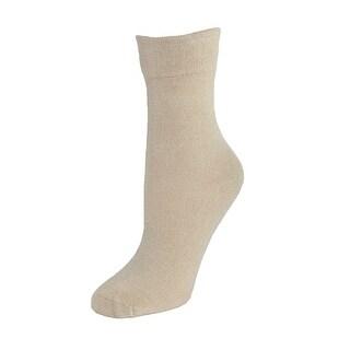 Windsor Collection Women's Bamboo Wide Trouser Slack Sock