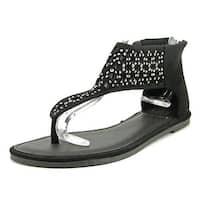 Yellow Box Acquarius Women Black Sandals