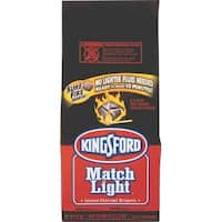 Kingsford 31259 Match Light Charcoal Briquets, 12.5 Lbs