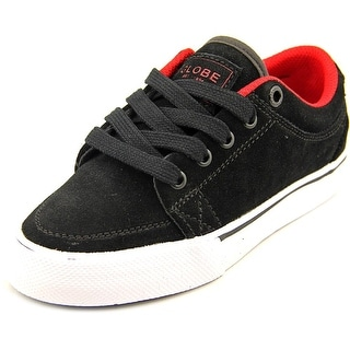 Globe GS Kids Youth Round Toe Suede Black Skate Shoe