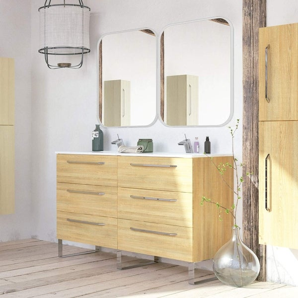 Shop Modern Double Bathroom Vanity cabinet - On Sale ...