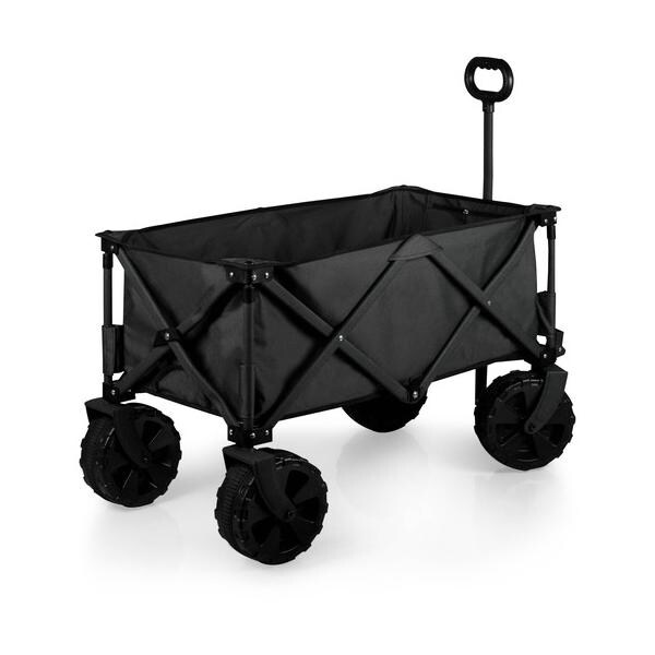 Picnic Time 741-00-679-000-0 Adventure Wagon All Terrain Edition Black Fusion - Grey