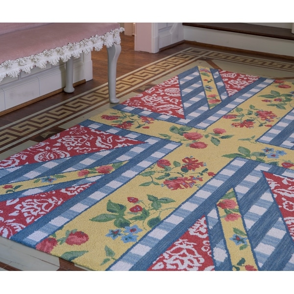 Madcap Cottage by Momeni Summer Garden Think of England Multi Area Rug. Opens flyout.
