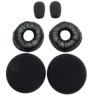 BlueParrott Foam Ear Cushions & Leatherette Ear Cushions for Over-the-Head Headsets