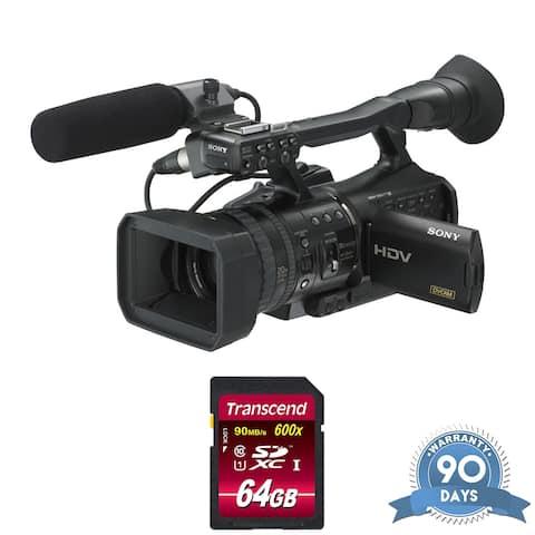 Sony HVR-V1U HDV Camcorder - with Memory Card -