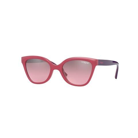 Vogue VJ2001 25537A 45 Opal Pink Woman Cat Eye Sunglasses