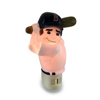 Boston Red Sox Batter Up MLB Team Night Light Nite Lite - Off-white