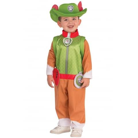 Rubies PAW Patrol Tracker Toddler/Child Costume - Green/Orange
