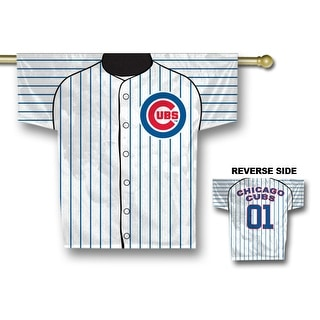 Fremont Die Inc Chicago Cubs Jersey Banner - 2-Sided Two Sided Jersey Banner