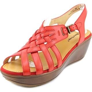 Baretraps Dayna Women Open-Toe Synthetic Red Slingback Sandal