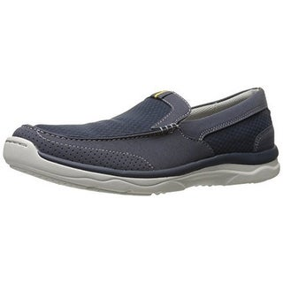 Clarks Mens Marus Step, Navy