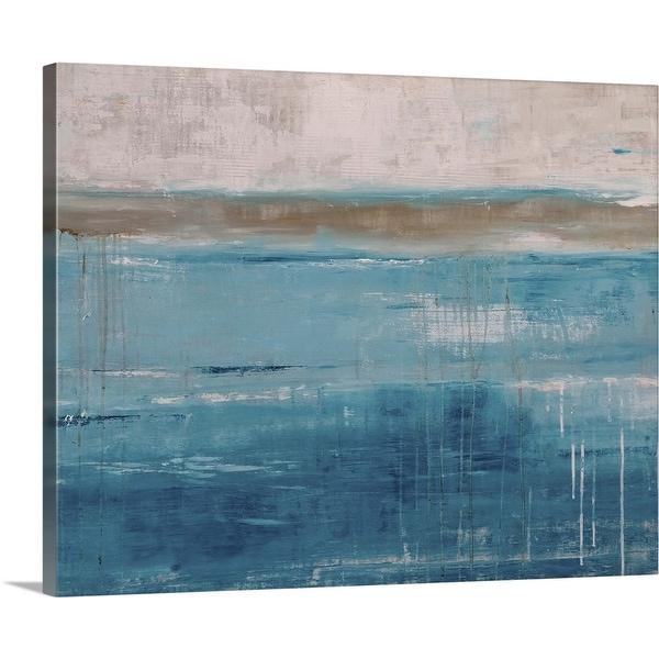 """Oceans Tide"" Canvas Wall Art"