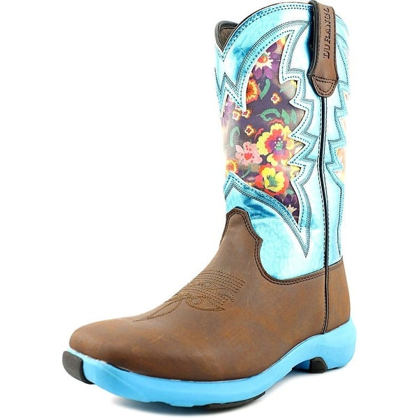 Durango Ramped Up Women Round Toe Leather Western Boot