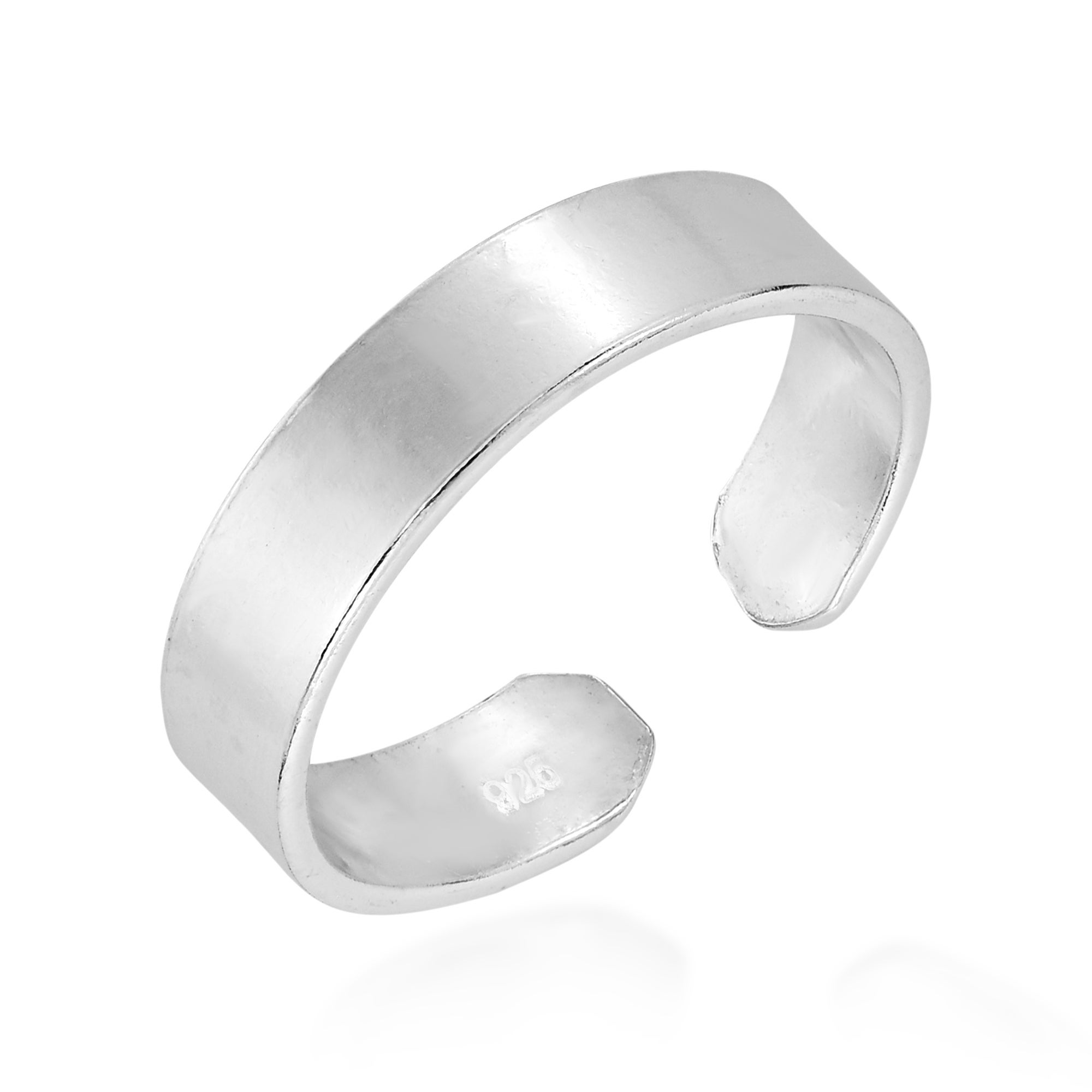 Sterling Toe Ring Adjustable Sterling Silver Toe Ring For Women Handmade Jewelry Gifts For Her Under 20