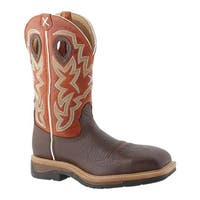 Twisted X Boots Men's MLCS011 Cognac/Orange Leather