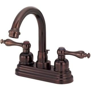 Danze D301255RB Two Handle Lavatory Faucet, Oil Rubbed Bronze