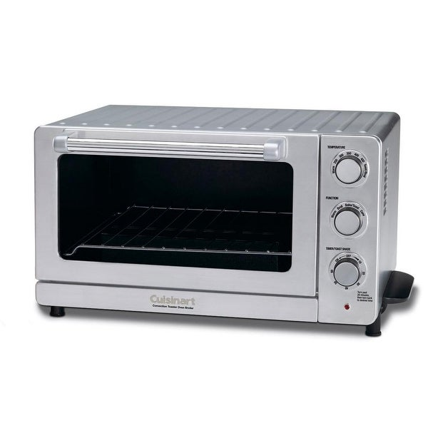 Stainless Steel Cuisinart TOB-60N1 Toaster Oven Broiler with Convection