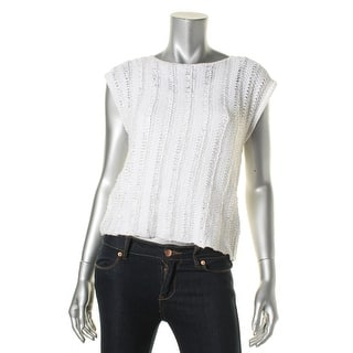 Lauren Ralph Lauren Womens Petites Pullover Sweater Knit Braided|https://ak1.ostkcdn.com/images/products/is/images/direct/98028fa3c66a2573000b25b458b0ffa23aa635eb/Lauren-Ralph-Lauren-Womens-Petites-Knit-Braided-Pullover-Sweater.jpg?impolicy=medium