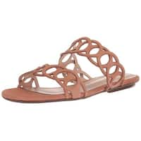 Schutz Womens Yaslin Open Toe Casual Slide Sandals