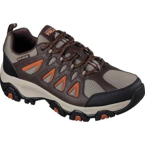 Skechers Men's Terrabite Trail Shoe Brown/Orange