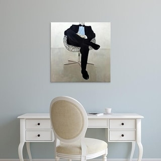Easy Art Prints Anna Kincaide's 'Nothing Left to Say' Premium Canvas Art