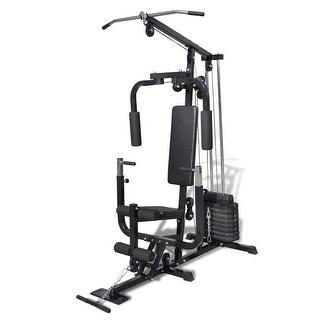 vidaXL Multi-use Gym Utility Fitness Machine - Black