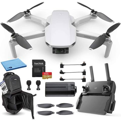 DJI Mavic Mini Portable Drone Quadcopter Must-Have Bundle -