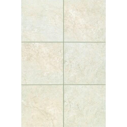 Shop Mohawk Industries Chiara Cream Ceramic Floor Tile - 13 inch floor tiles