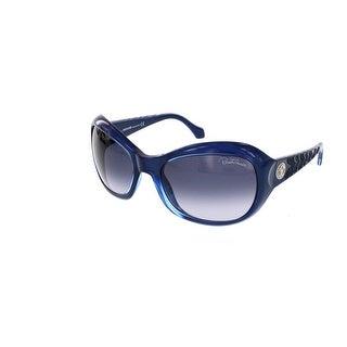 Roberto Cavalli RC 794S/S 92W ALDHIBAH Blue Rectangular Sunglasses