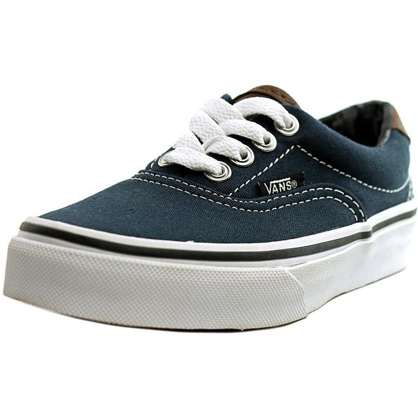 Shop Vans Era 59 Youth Round Toe Canvas Blue Skate Shoe - Free ... 0d74c2c48