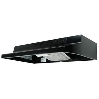 "Air King AD136 36"" 2-Speed 180 CFM Under Cabinet Range Hood with Duct Free Opera"